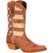 WOMEN'S DISTRESSED FLAG BOOT