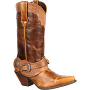 WOMEN'S SPUR STRAP WESTERN BOOT