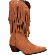WOMEN'S FRINGE WESTERN BOOT