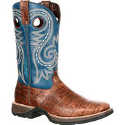 REBEL GATOR EMBOSSED WESTERN BOOT