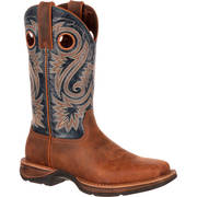 REBEL SADDLE WESTERN BOOT
