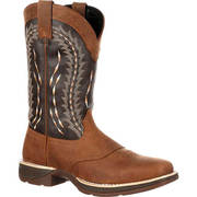 REBEL SADDLE PULL-ON WESTERN BOOT