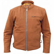 Men's brown scooter jacket