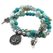 Браслет Turquoise Beads & Charms