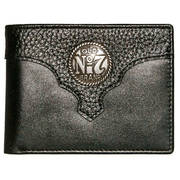 Кошелек / бумажник Old #7 Black Leather Billfold Wallet