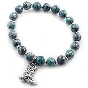 Браслет Turquoise Beaded Elastic Bracelet