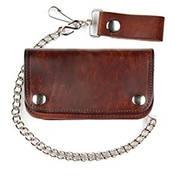 Кошелек / бумажник Leather Biker Wallet
