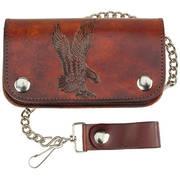 Кошелек / бумажник Leather Biker Wallet - Eagle