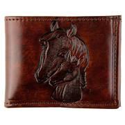 Кошелек / бумажник Brown Leather Billfold