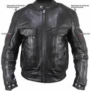 Кожаная мотокуртка Bandit Buffalo Cruiser Motorcycle Jacket