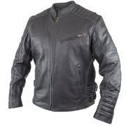 Кожаная мотокуртка Alpha Men's Leather Motorcycle Jacket