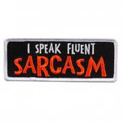 Нашивка I Speak Fluent Sarcasm Patch