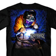 Футболка для байкеров Billy Lane's Chopper's Inc Welder Two Sided T-Shirt
