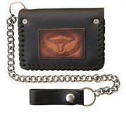 Аксессуар Bi-fold Chain Wallet with Buffalo Head