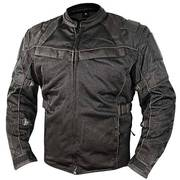 All Season Tri-Tex and Mesh Black Jacket