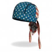 Головной убор Distressed American Flag Head Wrap