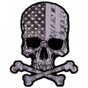 Нашивка Flag Skull Patch