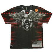 Футболка с изображением птиц Downwing Shielded Eagle All Over Print T-Shirt