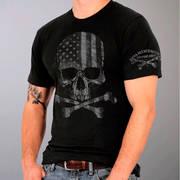 Faded Flag Skull T-Shirt
