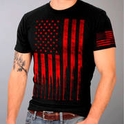 American Flag Bullets T-Shirt