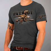 Футболка с изображением птиц Patriot American Eagle Gun T-Shirt