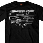 Футболка для байкеров Freedom Guns Men's T-Shirt