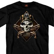 2nd Amendment Camo Skull T-Shirt