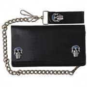 Кошелек / бумажник Skull Snap Bi-Fold Wallet