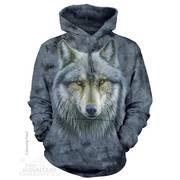 Балахон / Толстовка Warrior Wolf Hoodie
