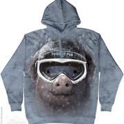 Powder Pig hoodie