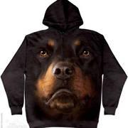 Балахон / Толстовка Rottweiler Face hoodie