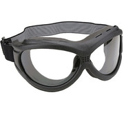 Мотоочки The Beast Black Goggles With Anti Fog Clear Polycarbonate Lens