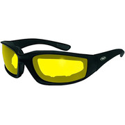 Мотоочки Kickback Glasses with Yellow Tint Lens