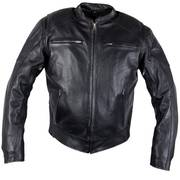 Xelement 'Evade' Men's Black Leather Motorcycle Jacket