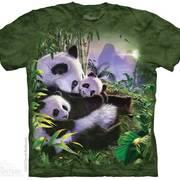 Футболка с медведем Panda Cuddles