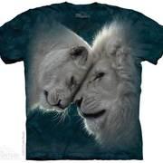 Футболка со львом White Lions Love