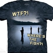 Fun-art футболка Freshwater WTF?!