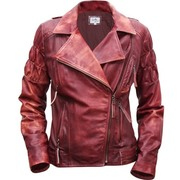 Motorcycle Cherry Jacket Scully
