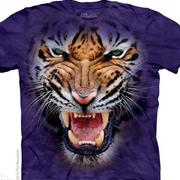 Growling Big Face Tiger