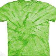 Однотонная футболка Spiral Green
