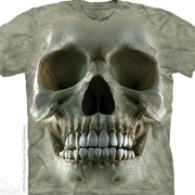 Футболка с изображением черепов Big Face Skull