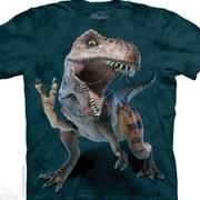 Футболка с изображением  динозавров Peace Rex