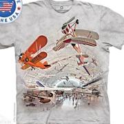 Военная футболка Boeing Aviation Hangar