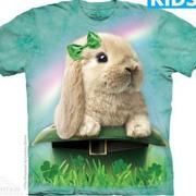 Футболка с изображением грызуна Irish Bunny Kids