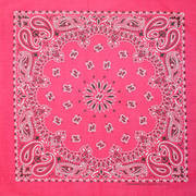 Бандана Ярко-Розовая