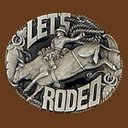 Ременная пряжка Let's Rodeo