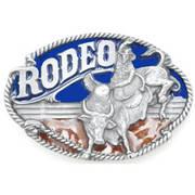 Ременная пряжка Rodeo Bullrider