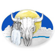 Аксессуар Buffalo Skull Sunrise