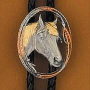 Horsehead Bolo Tie