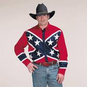 Хлопковая рубашка Rebel Western